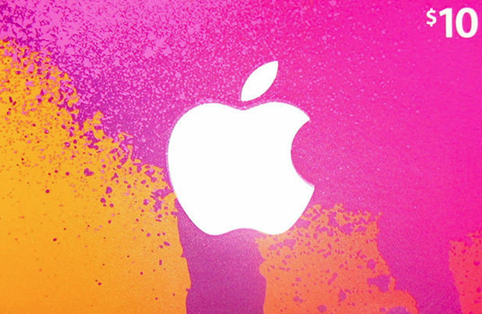 10 itunes gift card physical ships wtracking from