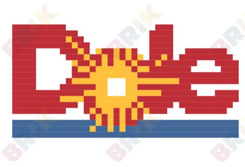 Dole Food Company Inc Logo Inc Logo Pixel Art Design Pixel Art