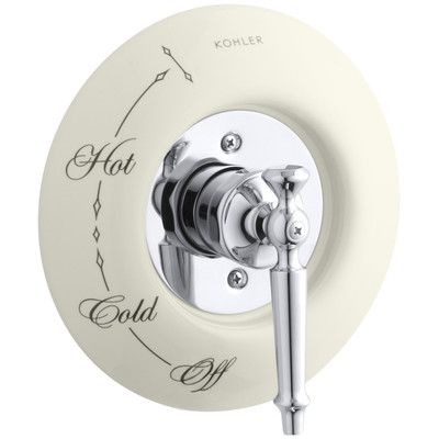 Kohler Antique Ceramic Dial Plate Finish Biscuit With Images Antique Ceramics Kohler Shower Faucets