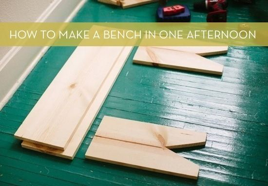 How To Make A Minimal Wooden Bench In One Afternoon Wooden Diy Wooden Bench Diy Diy Outdoor Furniture