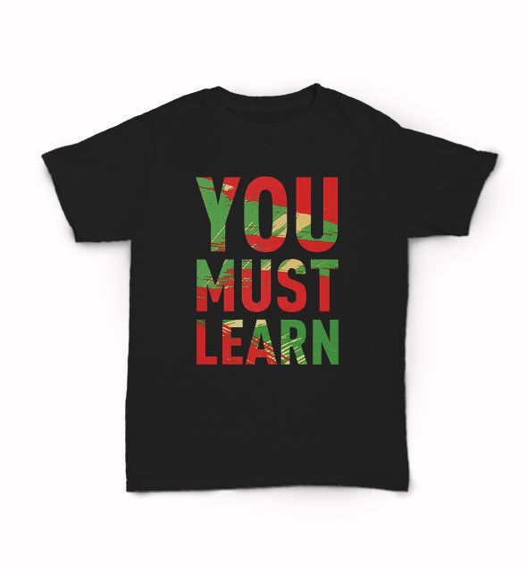 Details about You Must Learn T Shirt BDP Boogie Down