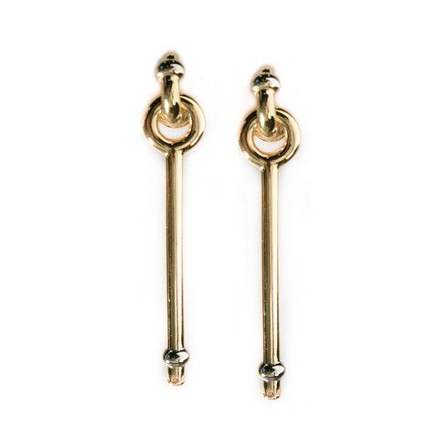 giles and brother earrings.