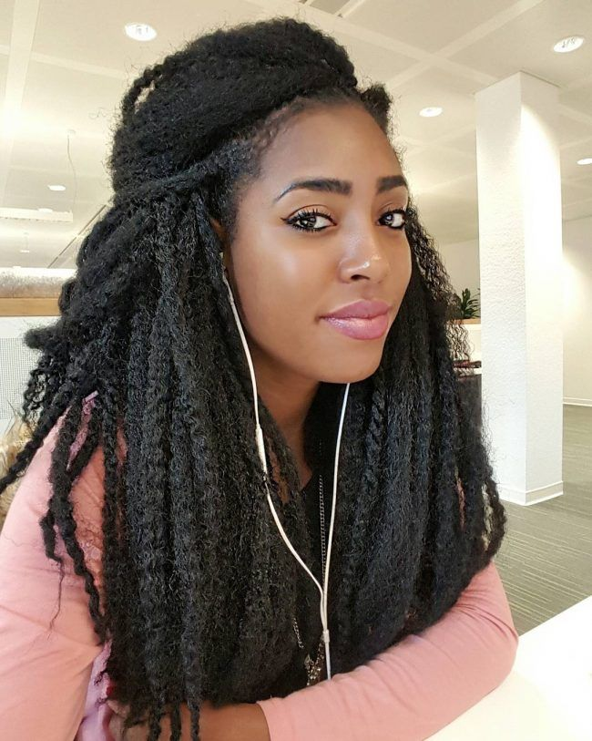 Loose Marley Crochet Twists Marley Hair Crochet Braids Marley Hair Crochet Weave Hairstyles