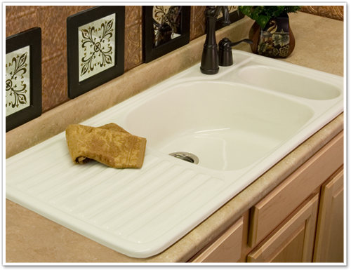 Kitchen Sink With Built In Drainboard Corstone Model 30 Wakefield