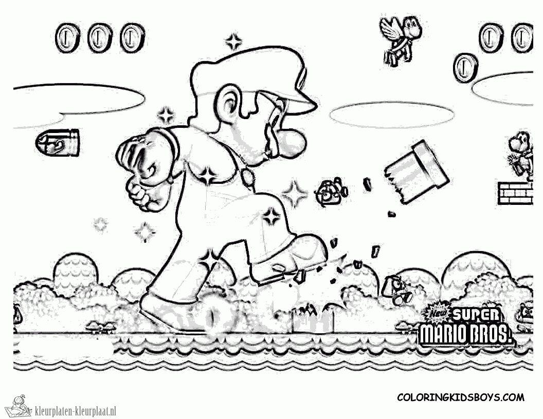 Kleurplaten Mario Kart 7.Mario Kleurplaat Parksidetraceapartments Beste Beste Mario