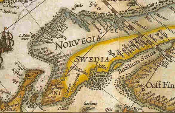 Old Scandinavian Map Map Vintage World Maps World Map