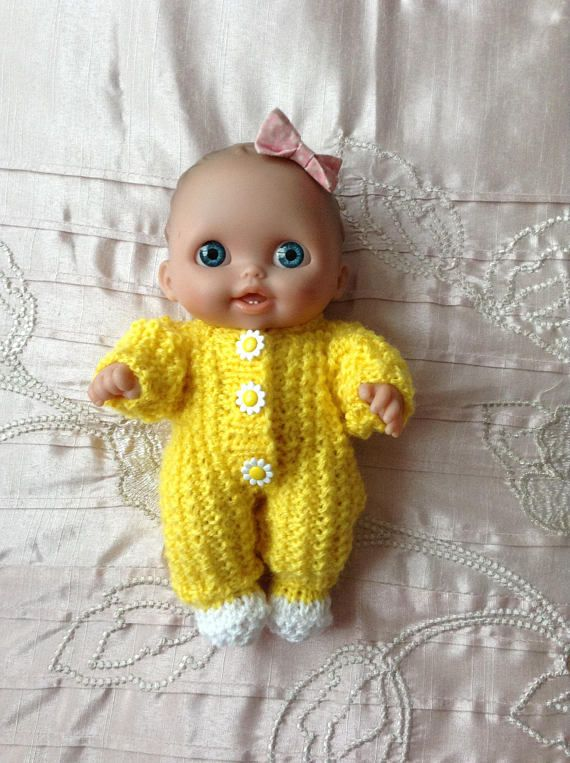 Hand Knitted Dolls Clothes To Fit 8 Berenguer Lil Cutsie Dolllots