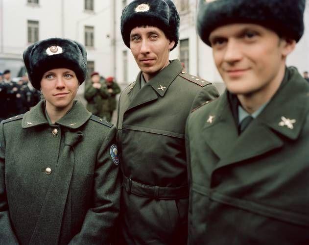 atletas russos em uniforme