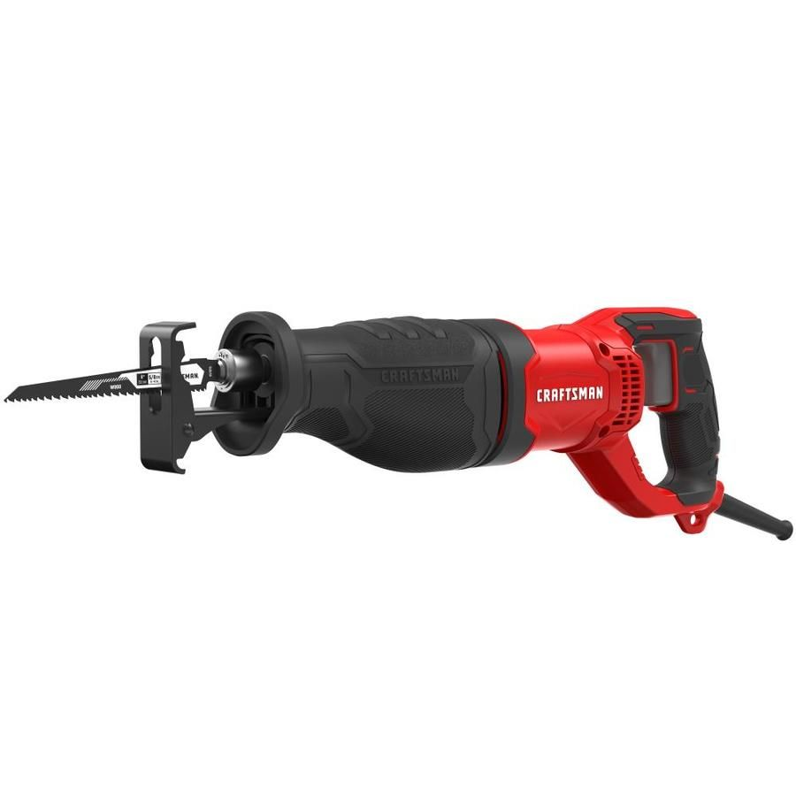 Craftsman 7 5 Amp Keyless Variable Speed Corded Reciprocating Saw In 2020 Reciprocating Saw Craftsman Variables