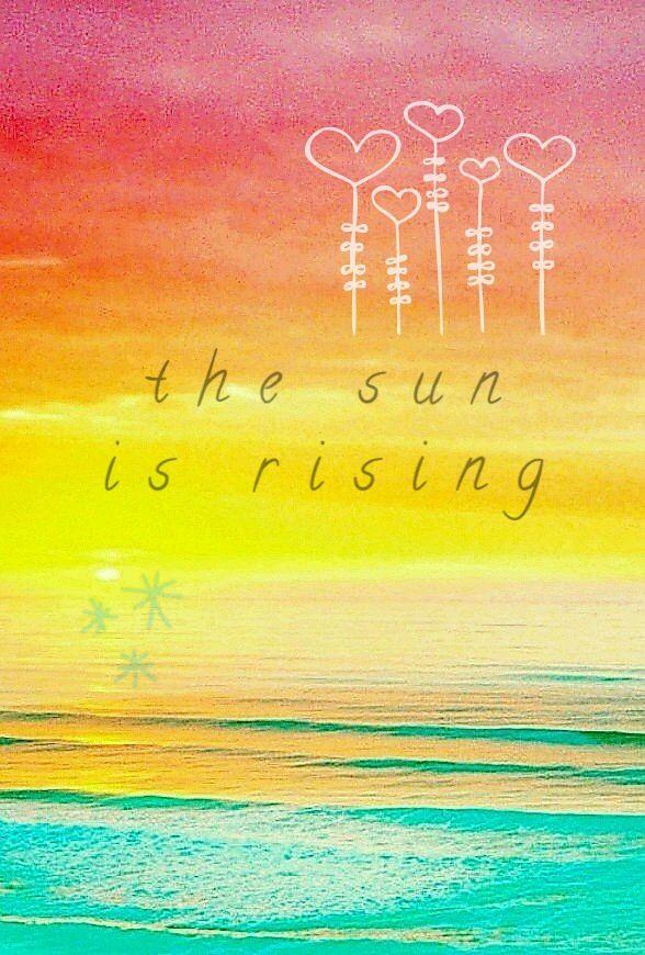 The Sun Is Rising Britt Nicole I Edited Myself Again Xd