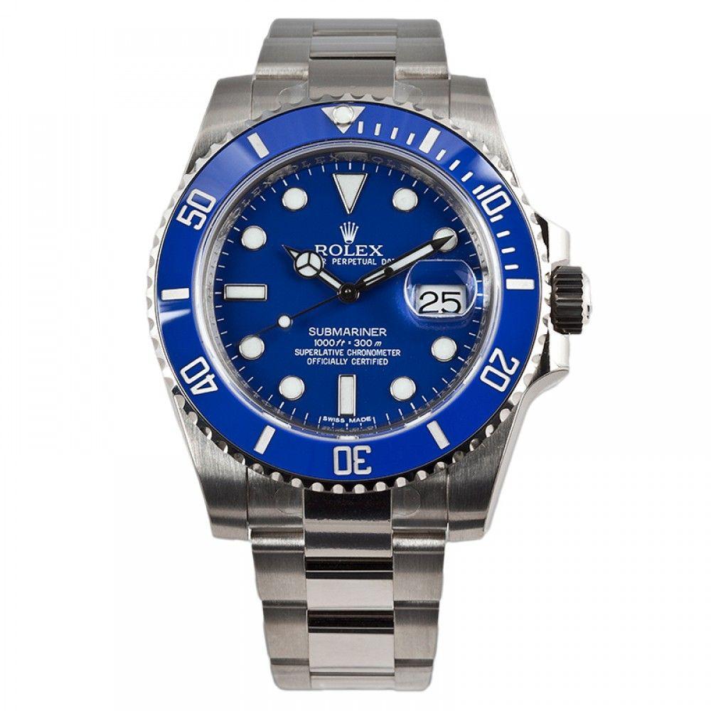Rolex Submariner Blue Ceramic Bezel