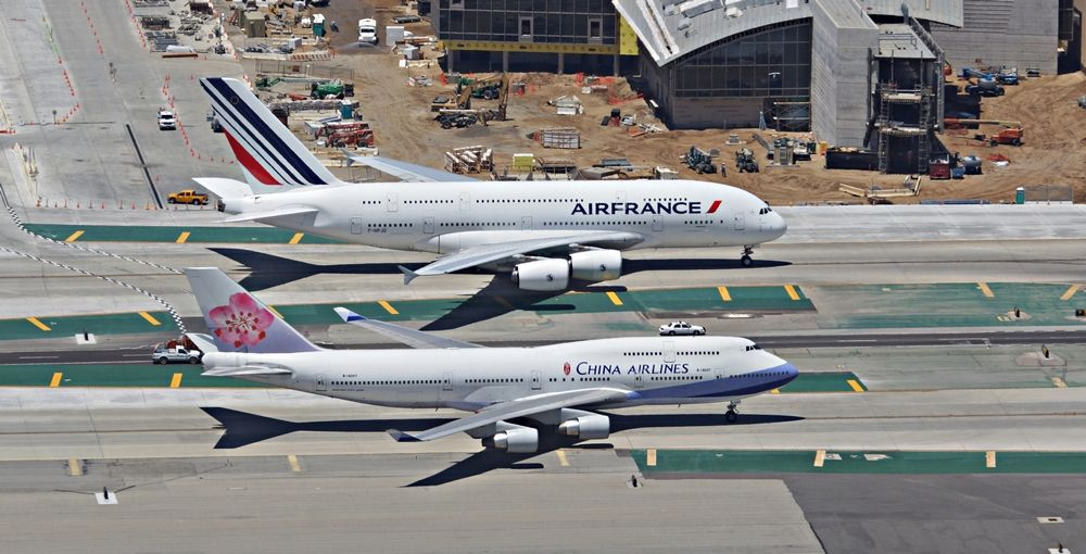 """""""One in a Million Shot' Air France Airbus A380800 taxiing"""