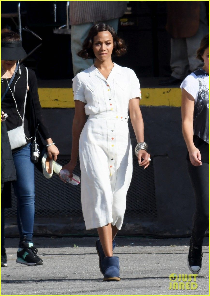 Zoe Saldana Joins Ben Affleck For Live By Night Re Shoots Zoe