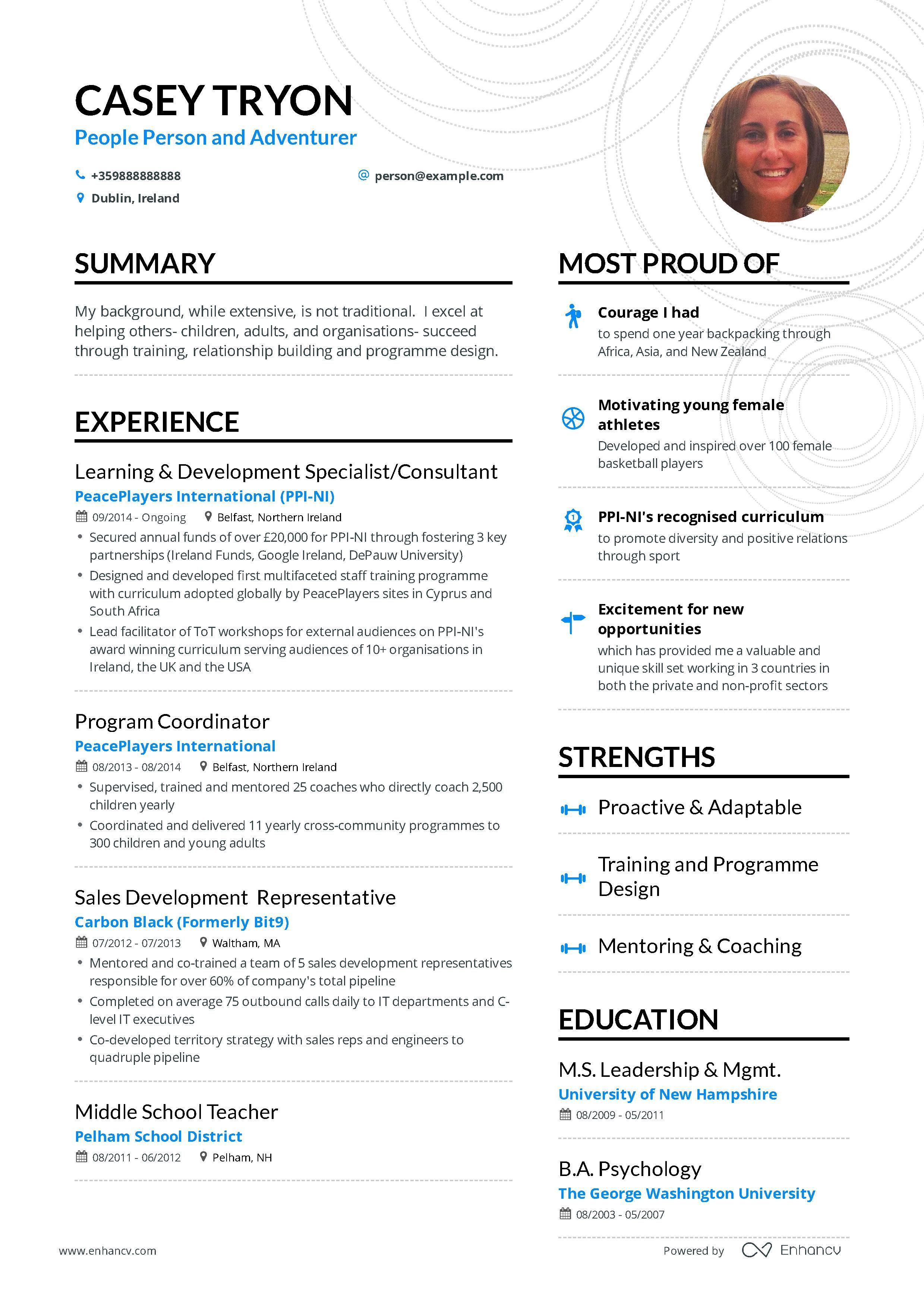 Download hr manager resume example for 2020 with images