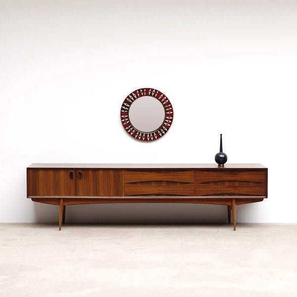 1960s Oswald Vermaercke Ultra Low V Form Paola Sideboard Here S A Ultra Low Credenz Mid Century Modern Furniture Sideboard Designs Modern Furniture