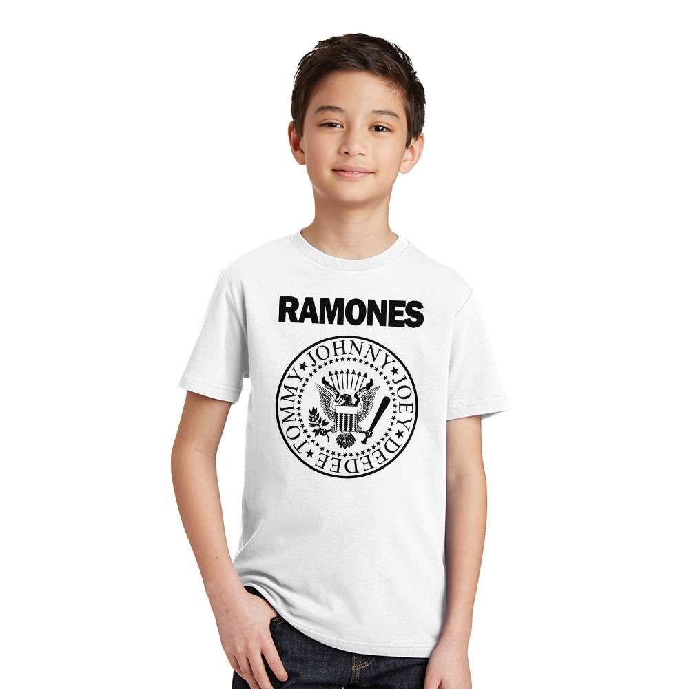 a5b52d98cbe0 Kid s Ramones Print Cotton T-Shirt Price  9.95   FREE Shipping ...