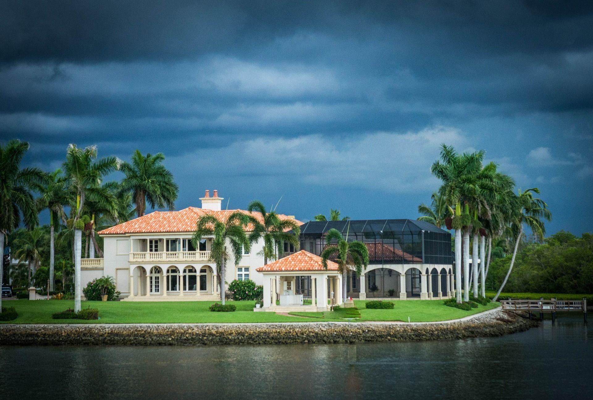 MarALago Has A Flood Insurance Policy Through The