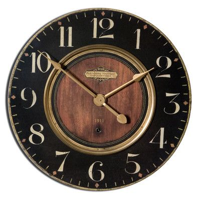 "Uttermost French Country ""Alexandre Martinot"" 30"" Clock Item No 06027 