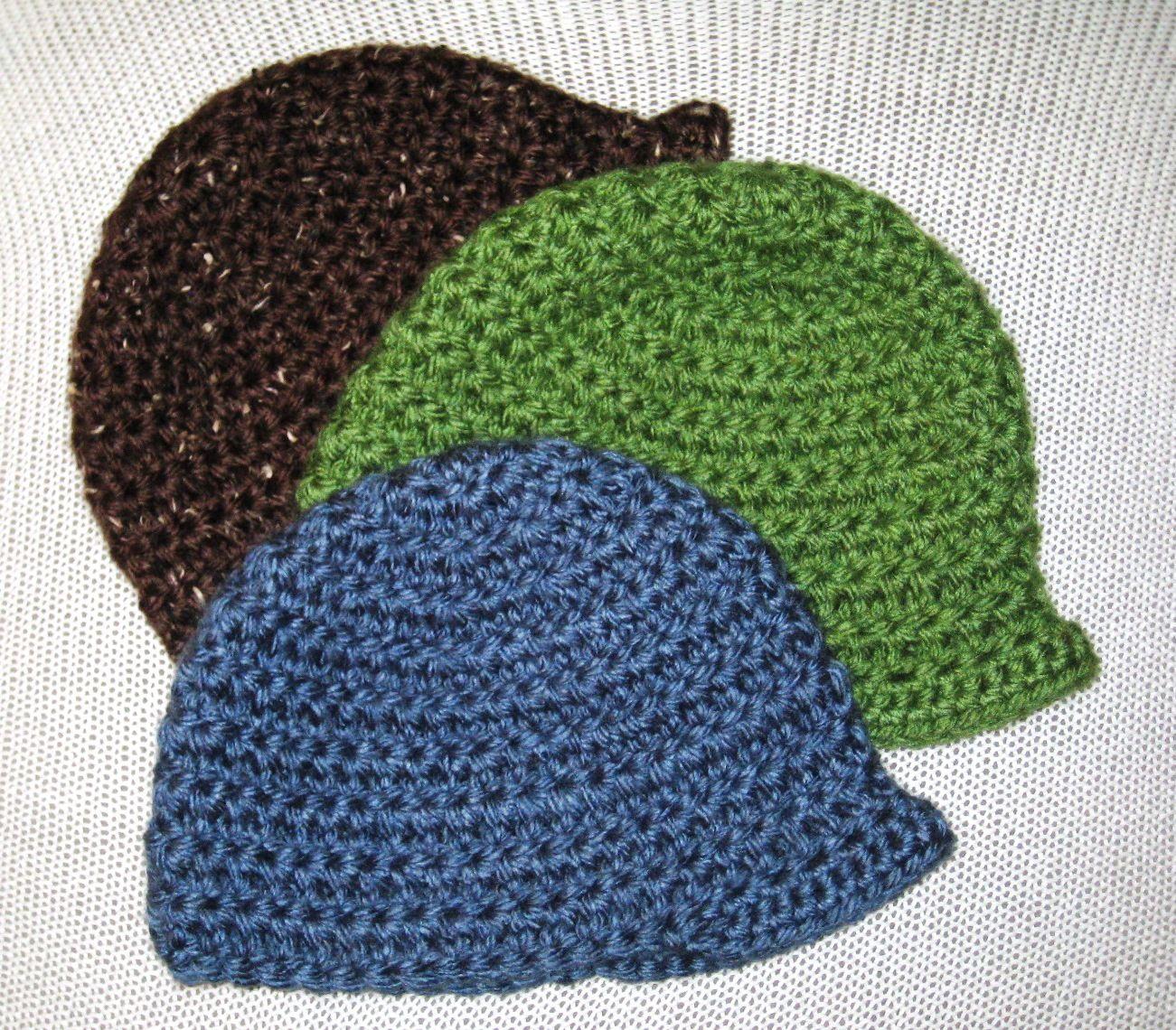 Chunky Crochet Brimmed Hat | Pinterest