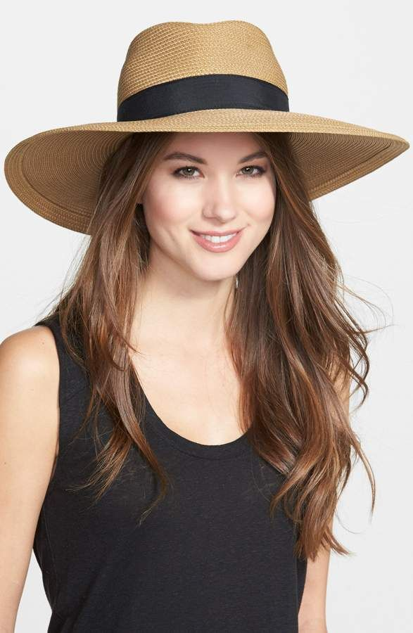7ae1397595511a Eric Javits 'Daphne' Broad Brim Fedora in 2019   Products   Hats ...