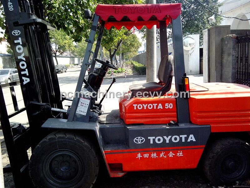 Used Toyota Forklift 5T For Sale (5T) - China Used Forklift