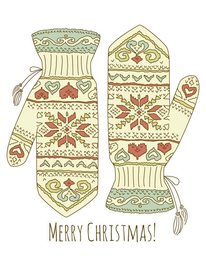 Free Printable Christmas Wall Art | DIY and crafts | Pinterest ...