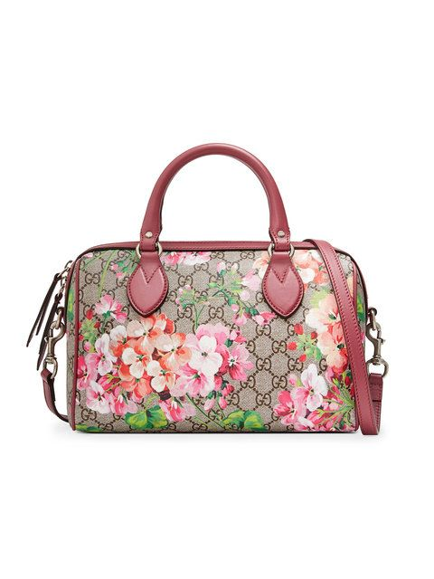 7165c2244bdd GUCCI Blooms Gg Supreme Top Handle Bag. #gucci #bags #shoulder bags #hand  bags #canvas #suede #lining #