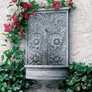 Outdoor Wall Decor Sussex Wall Fountain
