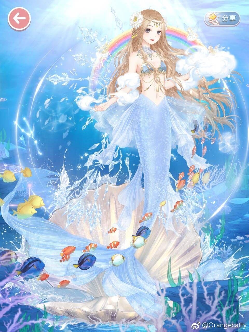 little mermaid 1 by orangecatty my creative nikki