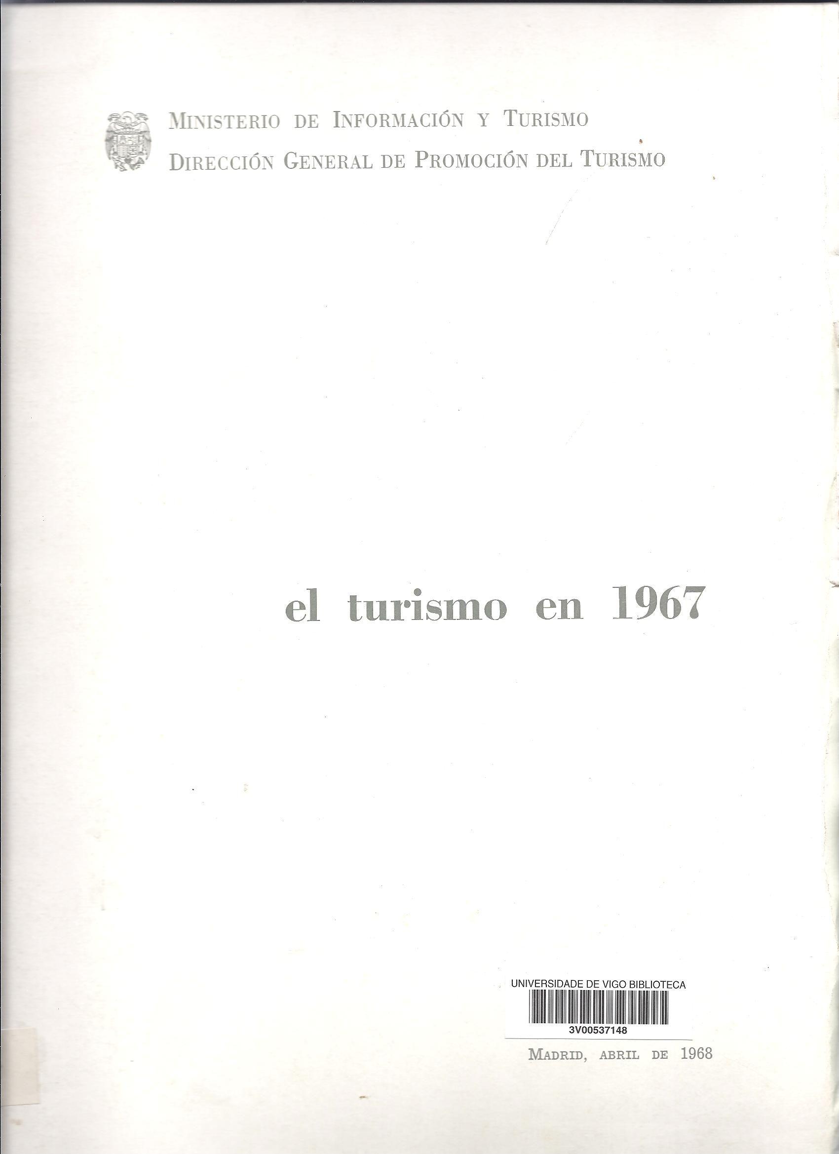 El turismo en 1967