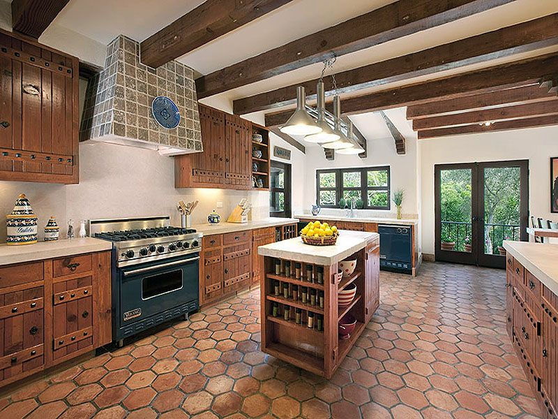 Beautiful Spanish Hacienda In Santa Barbara | iDesignArch ...