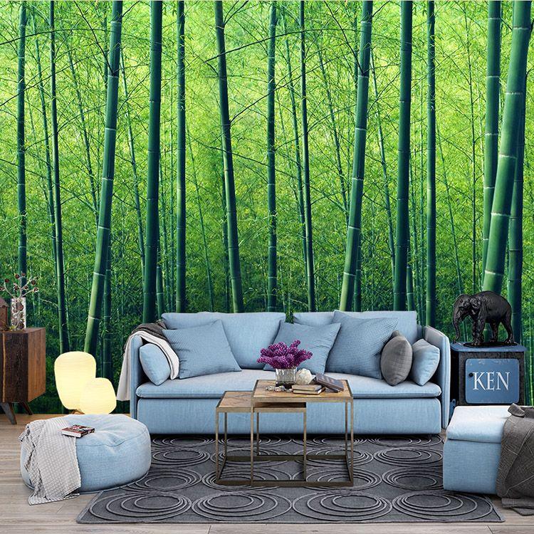 Natürliche landschaft 3D Bambus Wald Tapete schlafzimmer zimmer - tapete für schlafzimmer