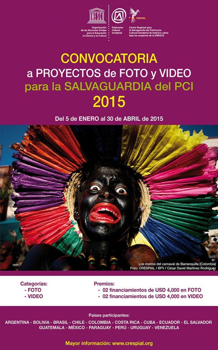 Convocatoria a proyectos de foto y video para la salvaguardia del PCI