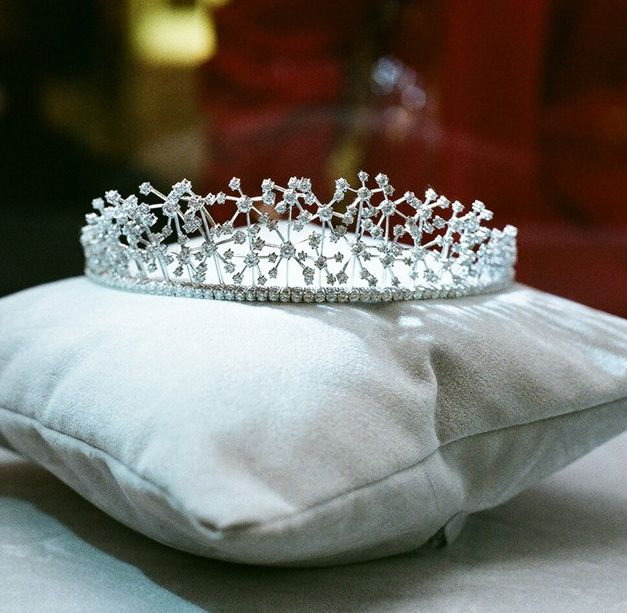 Bridal Shoes Selfridges: Tiara By Caroline Scheufele, 2010, At Selfridges Tiara
