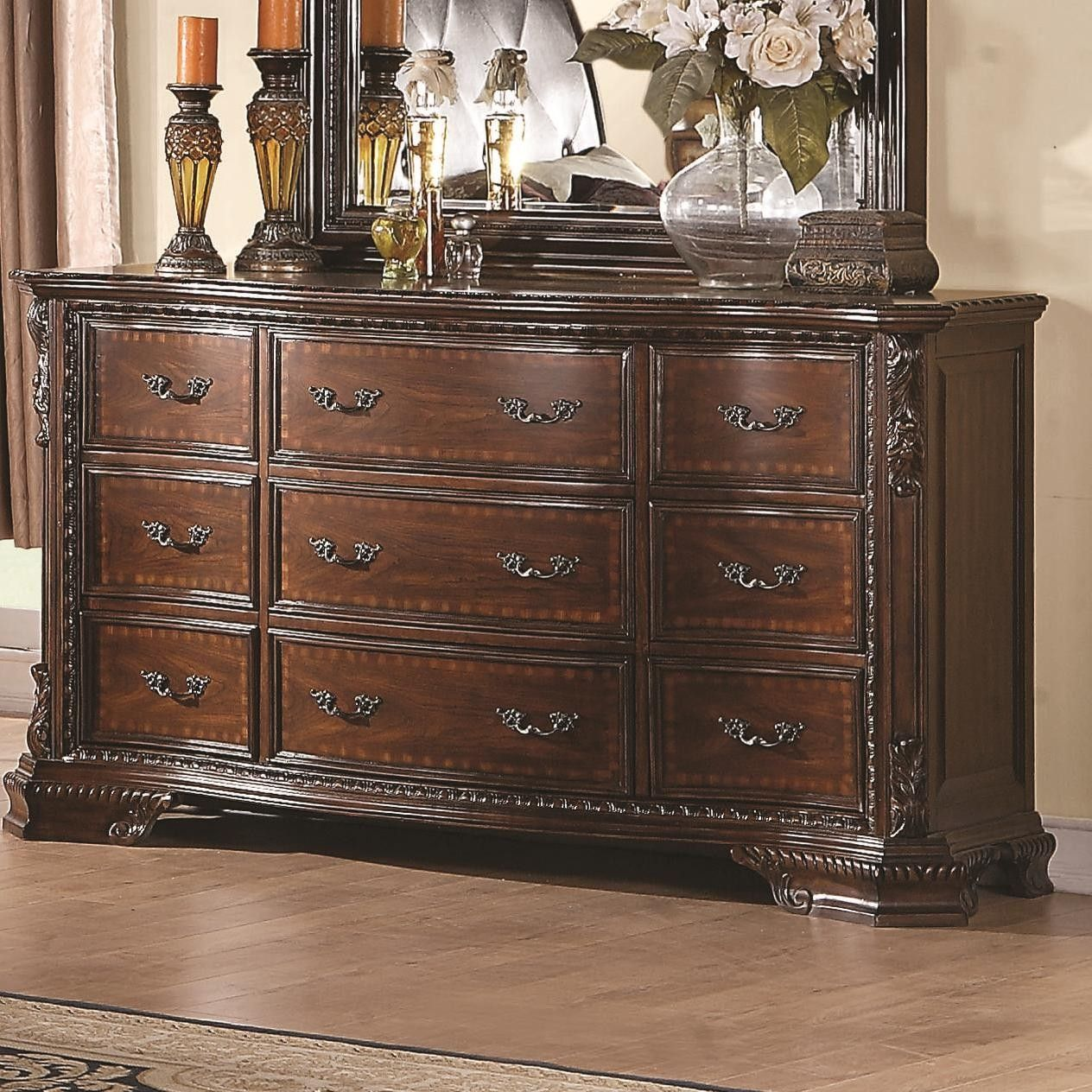 Coaster Furniture Maddison Drawer Dresser with Crowned