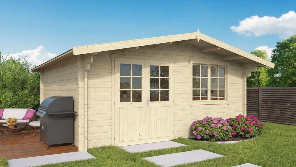 Details zu Topgarden Gartenhaus HELENE; 500x500 cm ISO; 45