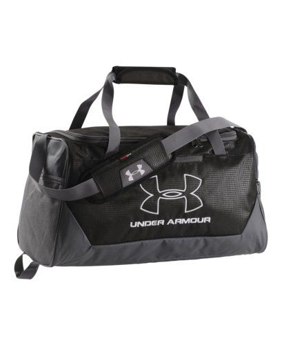 ba3eeb3ef1 Under Armour HustleR Small Duffel Bag Black 001 One Size     You can get  more details by clicking on the image.