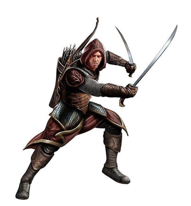 human male ranger pathfinder pfrpg dnd dampd d20 fantasy