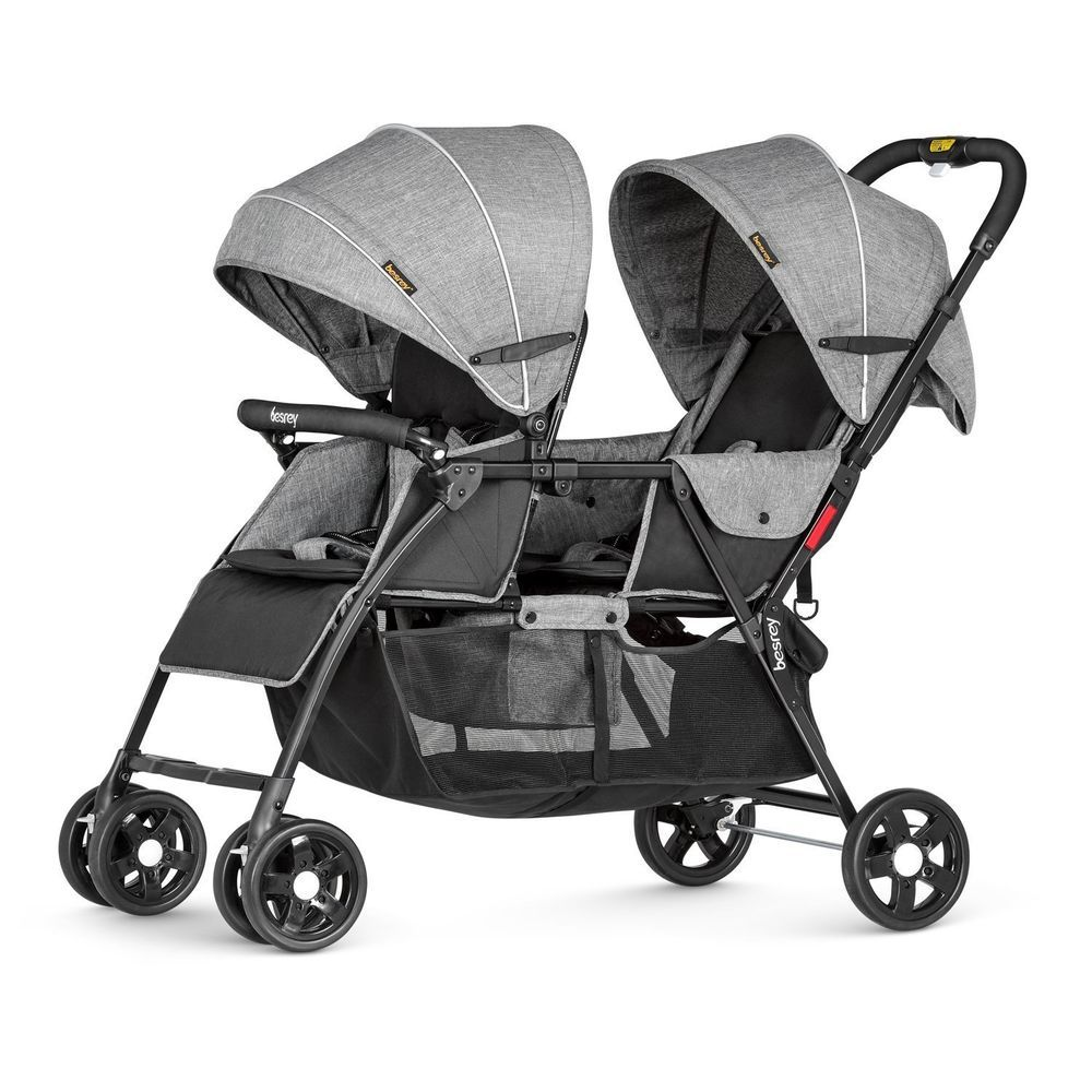 Double Buggy In Sale Besrey Double Stroller 2 Seat Prams Twin Tandem Buggy For