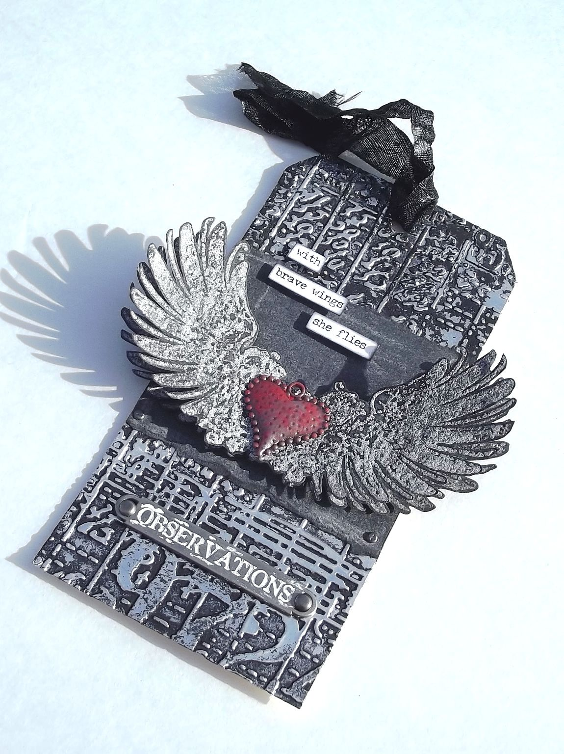 My take on Tim Holtz Tag January 2016