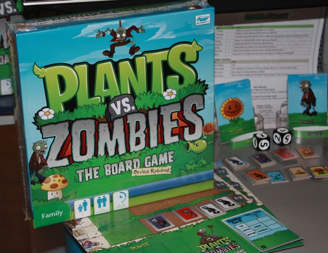 Is There a Board Game of Plants vs  Zombies? | PVZ | Zombie