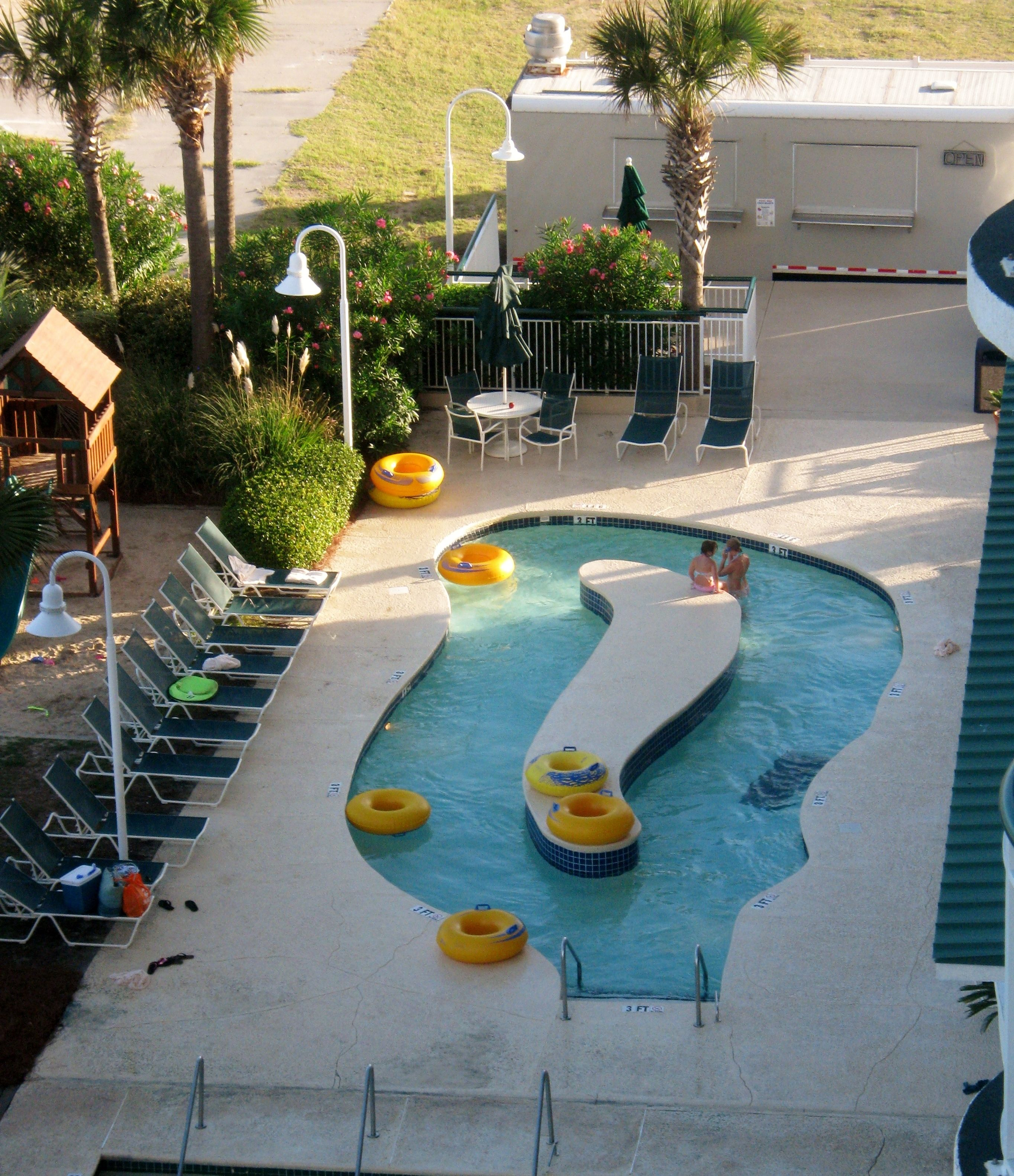 Hampton Inn And Suites Oceanfront Hotel Lazy River With Images