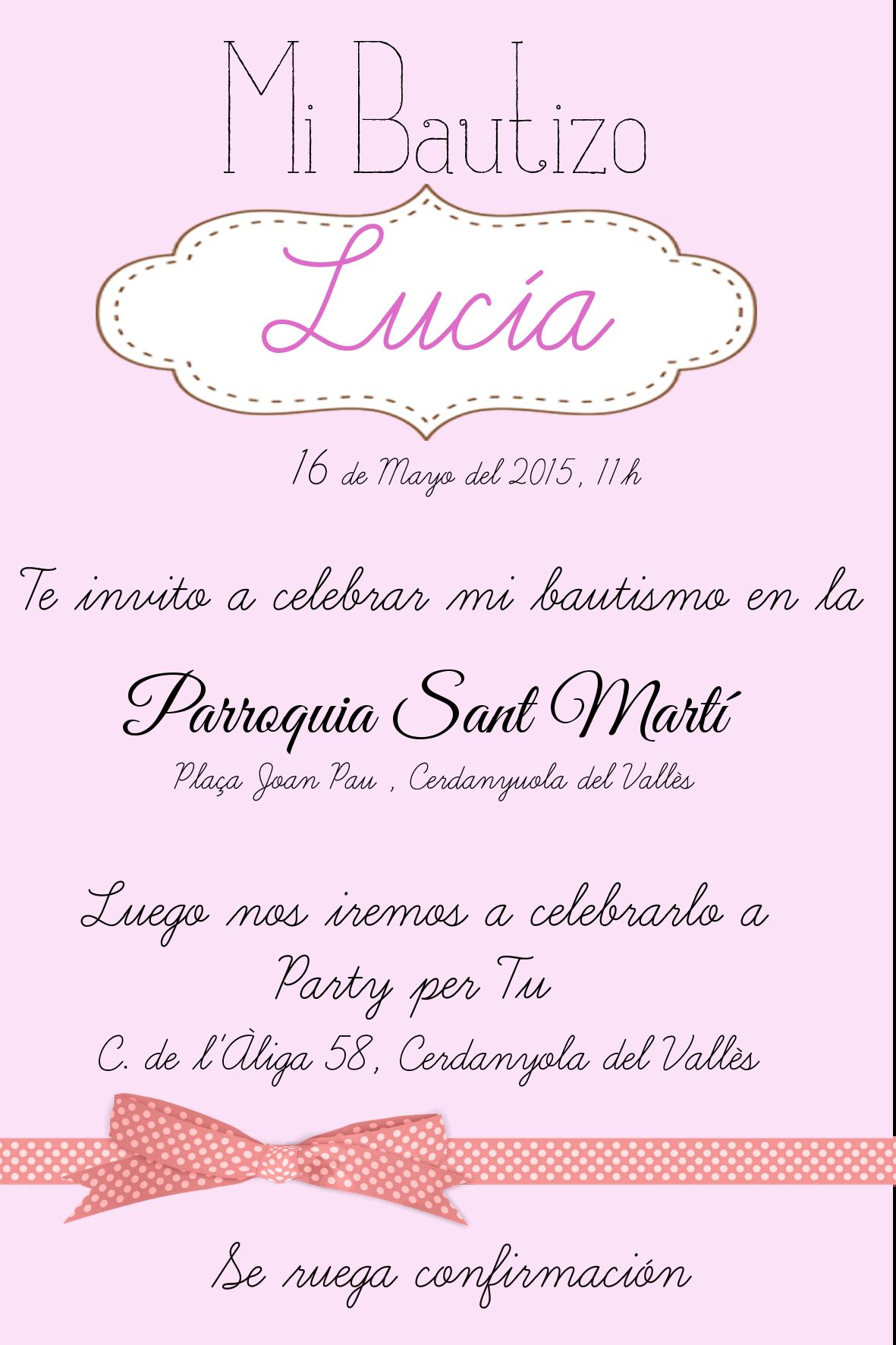 Pin De Elidet Valeria En Bautizo Invitaciones Bautizo