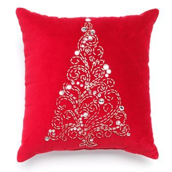 accent pillows at kohls shop our entire selection of decorative pillows including this st nicholas square christmas sparkle tree decorative pillow