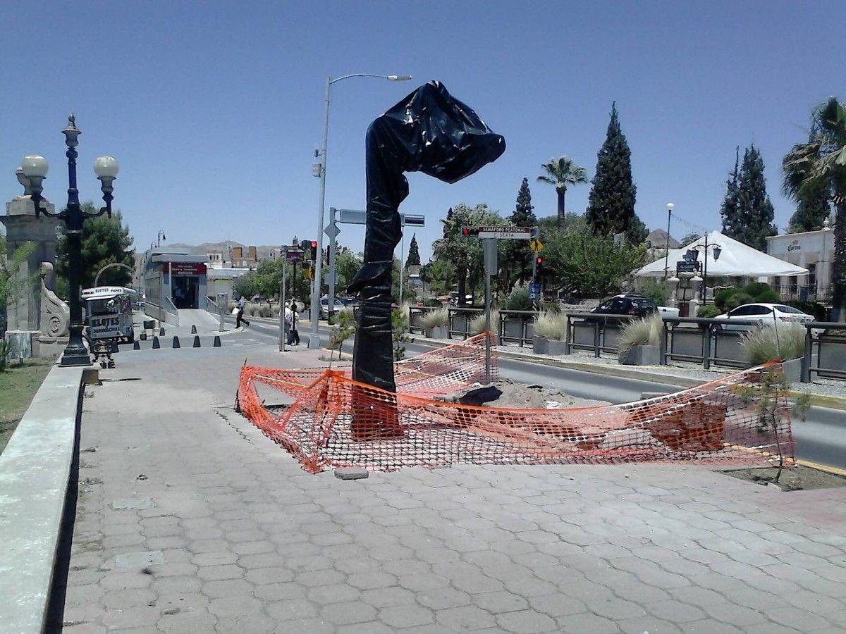 Interponen juicio de amparo vs Corredor Escultórico del Parque Lerdo; el lunes inician las argumentaciones | El Puntero