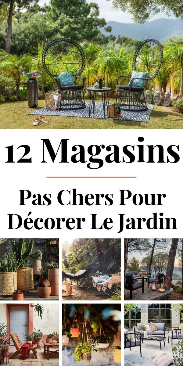 Deco Jardin Pas Cher 12 Sites Pas Chers Pour Decorer Le Jardin En 2020 Deco Jardin Pas Cher Decoration Jardin Jardins