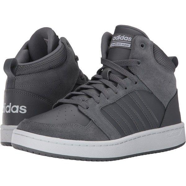adidas Cloudfoam Super Hoops Mid (Grey