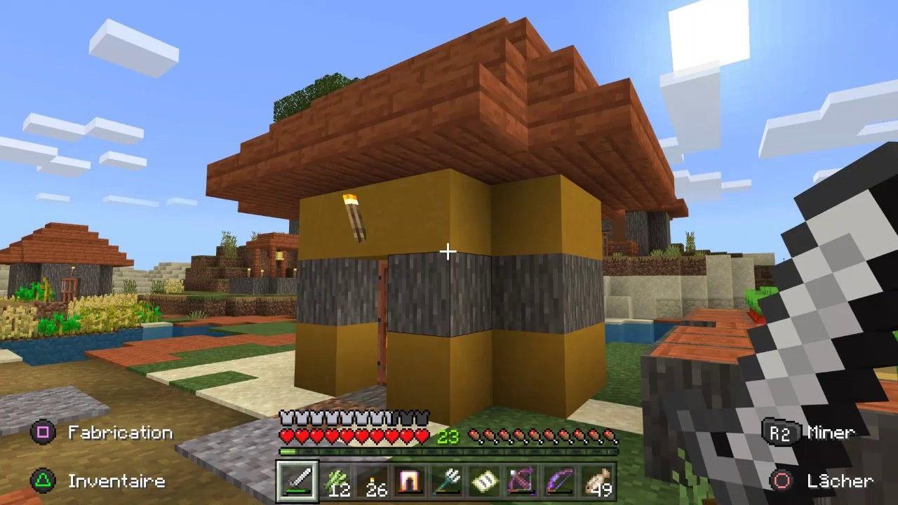 Minecraft Jolie Petite Maison Biome Savane Pergola Outdoor Structures Outdoor