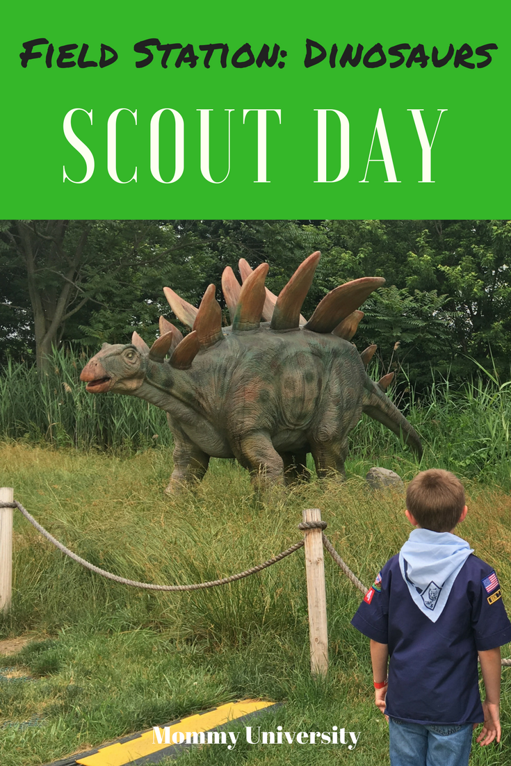 Scout Day at Field Station Dinosaurs | Mommy University