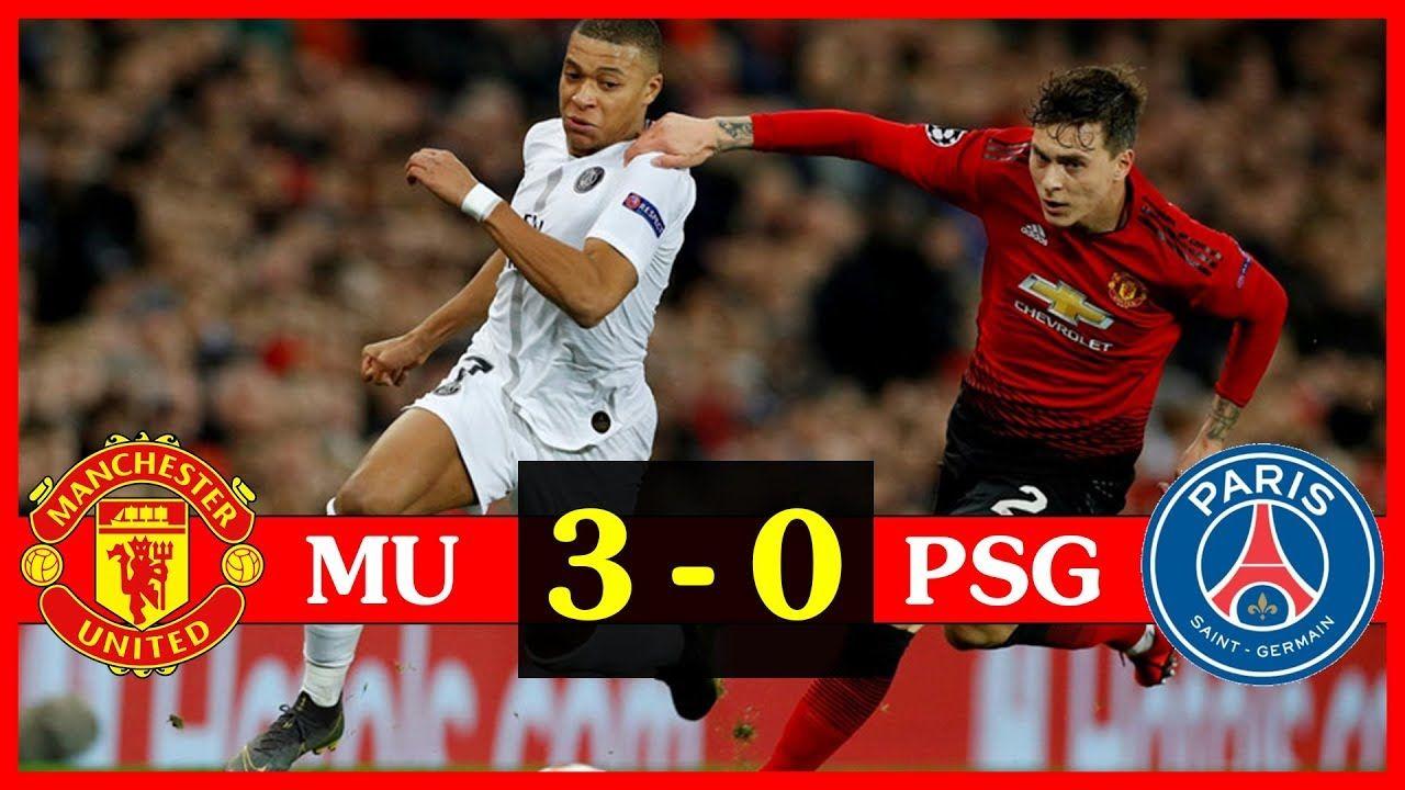 Manchester Utd vs PSG 02 All Goals & Extended Highlights